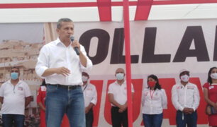 """Ollanta Humala cerró su campaña en Huaycán: """"Ningún partido nos ha podido representar"""""""