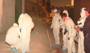 Hombre es asesinado de seis balazos en Ate