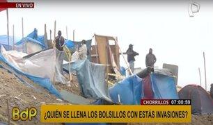 Más invasores continúan llegando al Morro Solar en Chorrillos