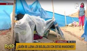 Morro Solar-Chorrillos: así viven los invasores asentados en la zona arqueológica