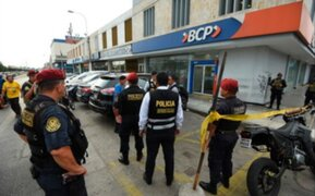 Caen dos delincuentes que balearon a cambista que se resistió a asalto en el Callao