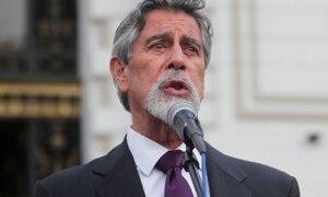 Sagasti sobre amenaza de vacancia por ley de AFP: algunos congresistas parecen chantajistas