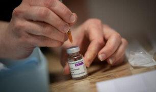 OMS advierte que aún no hay datos para recomendar combinar diferentes vacunas