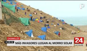 Chorrillos: Invasores del Morro Solar señalan que no tienen donde vivir debido a la pandemia