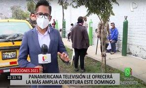 Elecciones 2021: Panamericana Televisión le ofrecerá la más amplia cobertura este 11 de abril