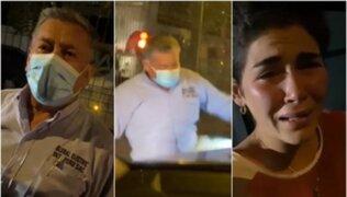 Chorrillos: sujeto ataca a piloto Nacional Annia Cilloniz