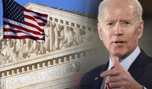 Joe Biden plantea reformar la Corte Suprema de EEUU