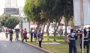 Elecciones 2021: retiran propaganda electoral en Cercado de Lima, Breña y San Miguel