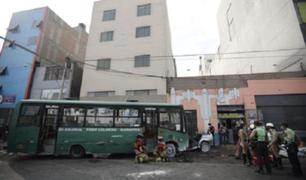 Cercado de Lima: un muerto y cinco heridos deja accidente vehicular