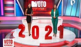 Elecciones 2021: Panamericana Televisión inicia cobertura especial hoy 11 de abril
