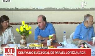 Rafael López Aliaga: candidato inicia su jornada con tradicional desayuno electoral