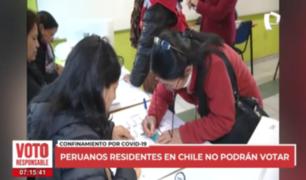 Peruanos residentes en Chile no podrán votar