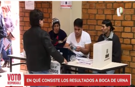 Flash electoral 2021: ¿En qué consisten los resultados a boca de urna?