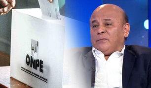 """César Campos: """"No tenemos un sistema político sólido y el que tenemos se ha ido deteriorando"""""""
