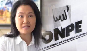 """Keiko Fujimori: """"Yo no se quien pasará a segunda vuelta, esperamos ser nosotros"""""""