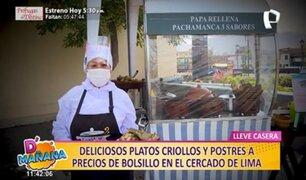 Conozca los deliciosos platillos criollos a precios de infarto en pleno Centro de Lima
