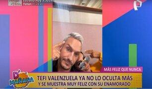 """Picantitas del espectáculo: Tefi Valenzuela está """"enamoradísima"""" de su novio y coach, Luka Lah"""