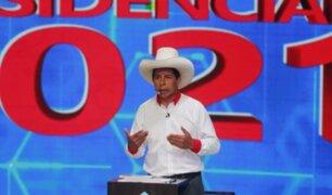 """Pedro Castillo: """"No voy a cambiar mi discurso porque sería ir contra mis principios"""""""