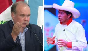 Elecciones 2021: Rafael López Aliaga tiende puentes a Pedro Castillo y le expresa su respaldo