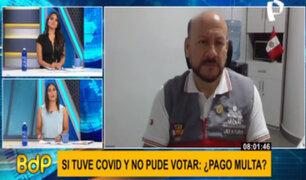 Dispensa por no ir a votar por Covid: conoce paso a paso cómo tramitar justificación