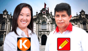Resultados ONPE: Pedro Castillo y Keiko Fujimori encabezan conteo casi al 100% de actas procesadas