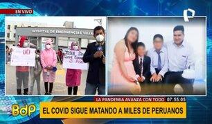VES: viajan desde Cusco para solicitar cama UCI para padre de familia con COVID-19