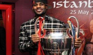 LeBron James y su conexión con el Liverpool de Inglaterra