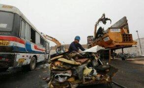 ATU espera chatarrear hasta 500 vehículos abandonados en depósitos