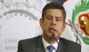 """Luis Galarreta: """"Lo más importante es pensar en el bienestar del país"""""""
