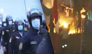 """Invasores del """"Morro Solar"""" se atrincheran ante presencia policial"""