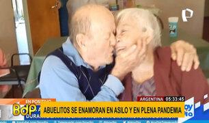 Argentina: dos adultos mayores encuentran el amor en asilo y en plena pandemia