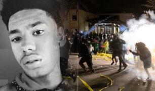 EEUU: se registran protestas por muerte de afroamericano a manos de la policía