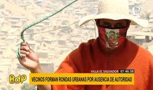 VMT: ronderos urbanos velan por la seguridad de sus vecinos ante la ausencia policial