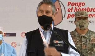 Francisco Sagasti: gobierno regional de Piura lo declaró persona no grata tras entrega de vacunas