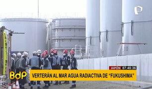 Japón: gobierno liberará al mar agua radiactiva de la planta nuclear