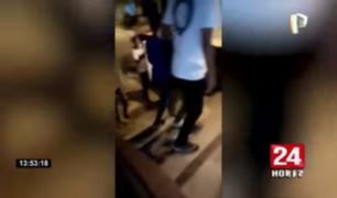 Jóvenes protagonizan pelea por el amor de una joven en Tumbes