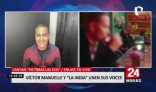 """Víctor Manuelle y La India unen sus voces en """"Víctimas las dos"""""""