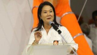 Keiko Fujimori: No voy a caer en la campaña del miedo
