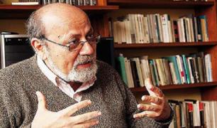 """Alberto Adrianzén: """"Los sectores más populares han sido descuidados en los últimos años"""""""