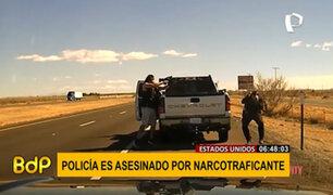 EEUU: narcotraficante asesina a balazos a policía