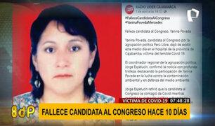 Tercera candidata al Congreso más votada por Perú Libre falleció de COVID-19