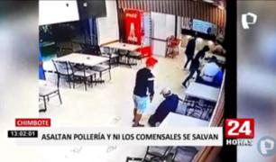 Chimbote: captan a delincuentes en asalto a pollería