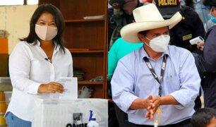 """Keiko Fujimori: invoco a Pedro Castillo a no seguir """"con su campaña de división y de odio"""""""