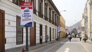 Municipalidad de Lima presentó plan de peatonalización del Centro de Lima