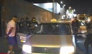 El Agustino: detienen a presunto falso taxista que robaba a pasajeros