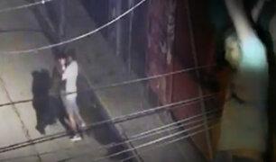 Cajamarca: se registra violento robo de celular en vía pública