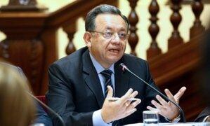 Édgar Alarcón: Congreso aprueba acusación constitucional contra excontralor