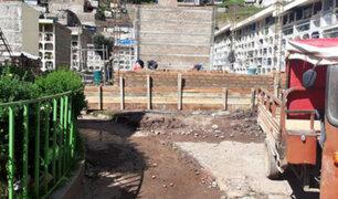 Covid-19: ante aumento de decesos construyen nuevos pabellones en cementerio de Huancavelica