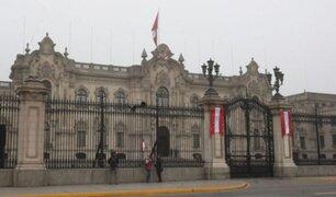 Pedro Castillo: informan que presidente ya despacha desde Palacio de Gobierno
