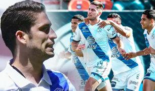 Santiago Ormeño anota el 1-0 de Puebla vs Atlético San Luis